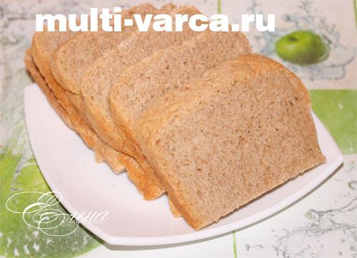Ржаной хлеб в мультиварке панасоник