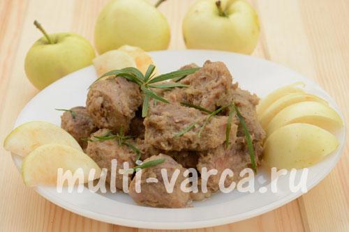 рецепты для мультиварки для пирога с яблоками