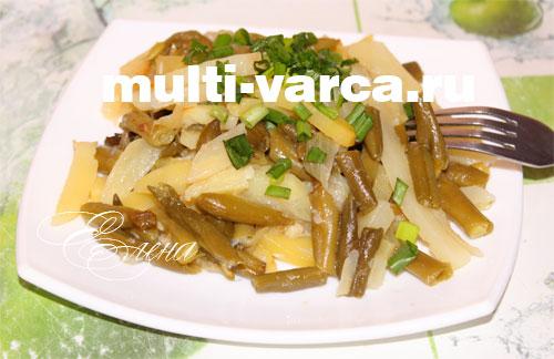 стручковая фасоль с картошкой в мультиварке рецепты