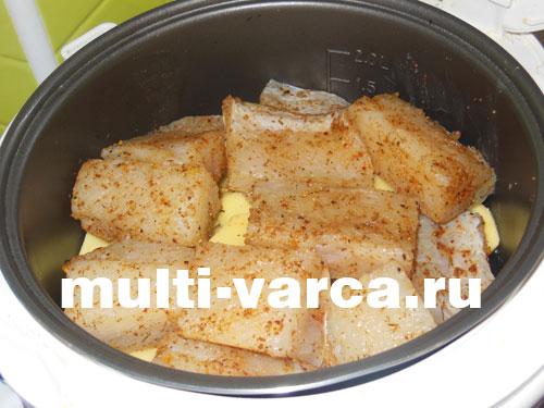 Щука с картошкой в мультиварке рецепт с фото пошагово