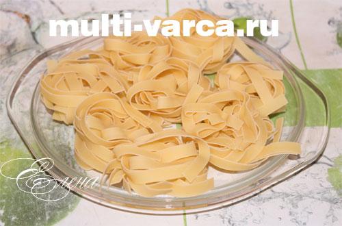 Как сделать макаронные гнезда с фаршем - Mobblog.ru
