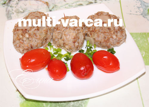 Гречаники с фаршем рецепт в мультиварке на пару