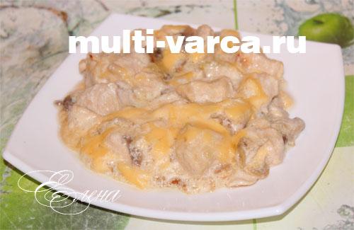 жульен с грибами и курицей рецепт в мультиварке