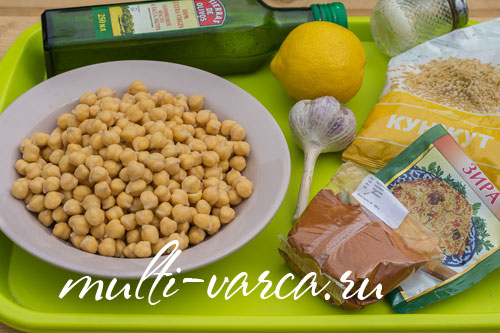 Как приготовить хумус в мультиварке в домашних условиях