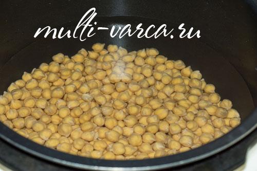 Хумус в мультиварке, пошаговый рецепт с фото