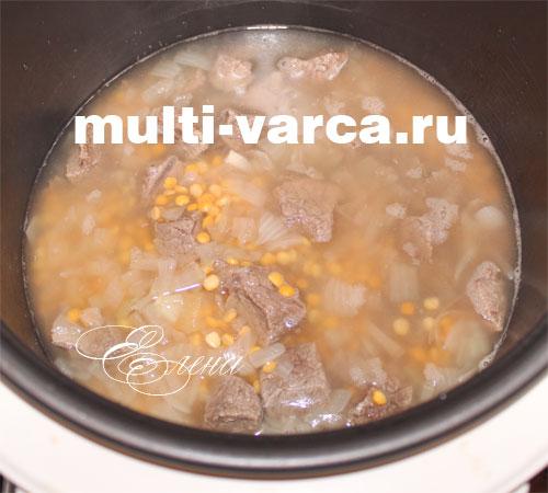 рецепты вкусной гороховой каши в мультиварке