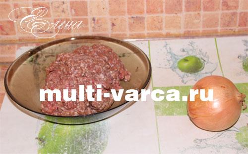рецепт котлет из говяжьего фарша в мультиварке