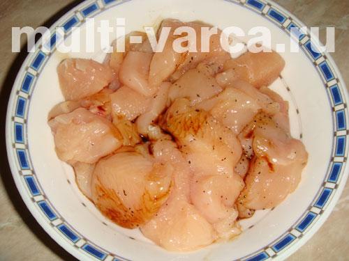 Куриное филе с соевым соусом в мультиварке рецепты с фото
