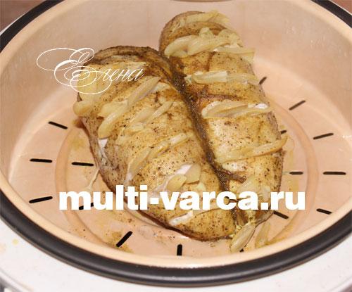 курица в мультиварке с картошкой на пару