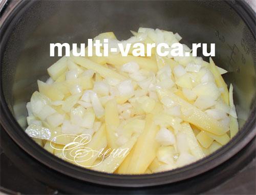 рецепт приготовления бедрышек с картошкой в мультиварке
