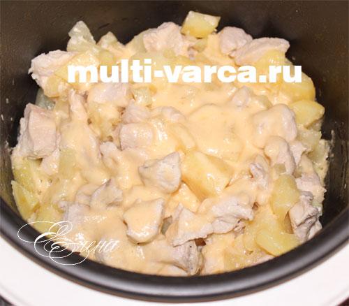 Как приготовить бёдра куриные в духовке на протвине