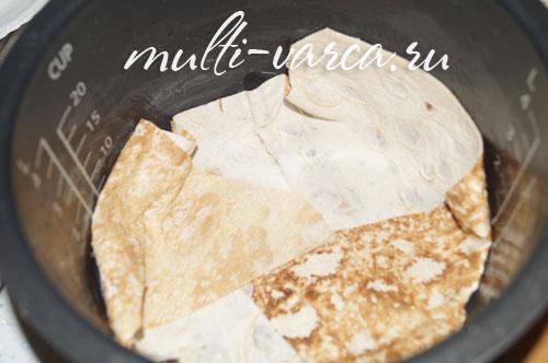 Лазанья с фаршем в мультиварке рецепт в домашних