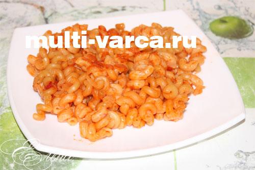макароны в мультиварке рецепты на пару в