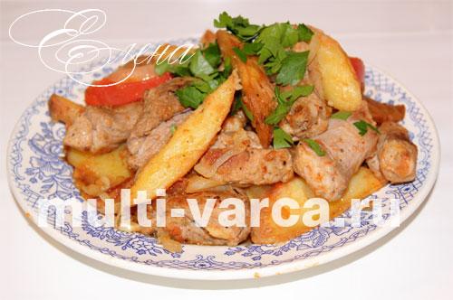 праздничные блюда из свинины в мультиварке рецепты