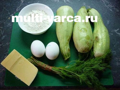 Рецепт из кабачков для детей одного года