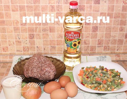 овощная запеканка с мясом в мультиварке рецепты