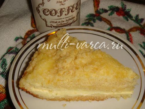Торт Кисельные берега  кулинарный рецепт