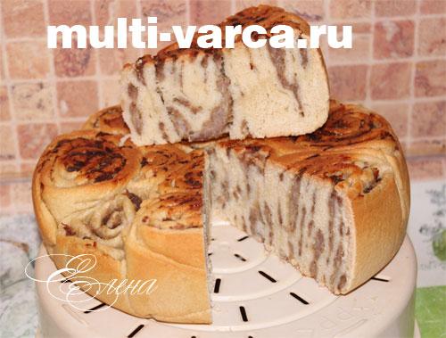 Пироги с фаршем в мультиварке с 156