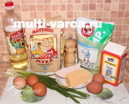 Пирог с луком и ¤йцом рецепт с фото