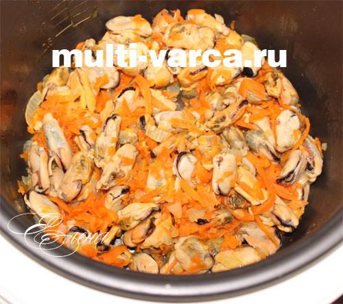 плов с мидиями рецепт с фото пошагово