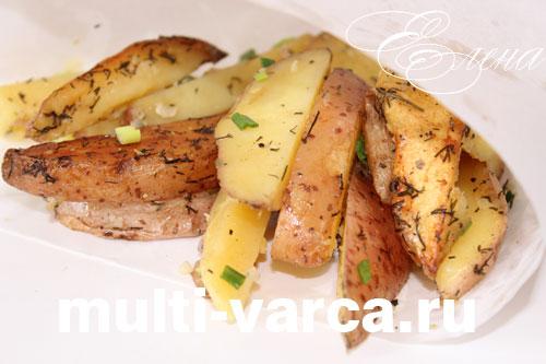 как готовить картошку по деревенски дома