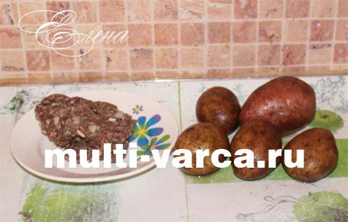 картошка в мультиварке рецепты bork