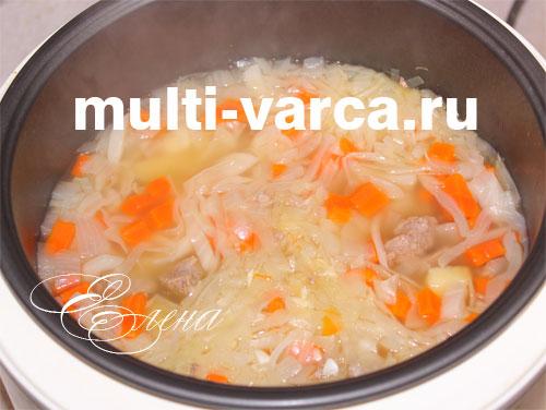 Говядина с кабачками в мультиварке рецепты