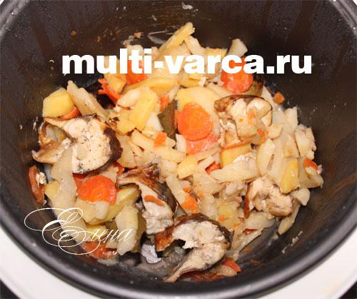 готовим в мультиварке рецепты с овощами