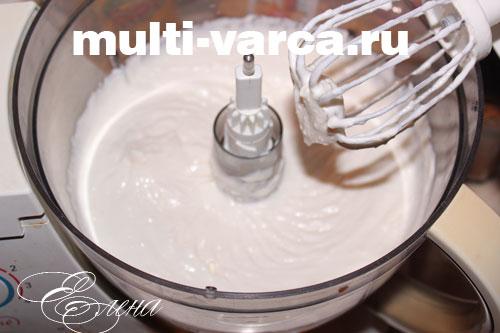 крем для сметанного торта в мультиварке
