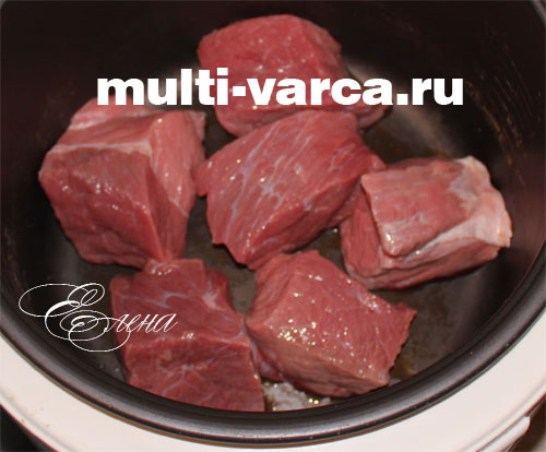 вкусная мясная солянка в мультиварке