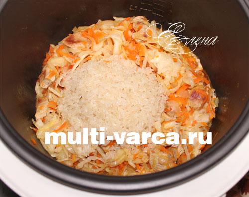 готовим в мультиварке рецепты из капусты