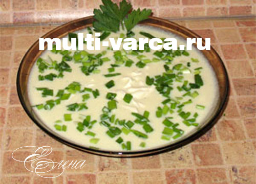 Кабачковый суп пюре из молодых, свежих кабачков