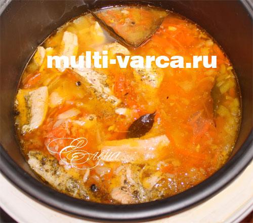 Суп в мультиварке рецепты рыбный