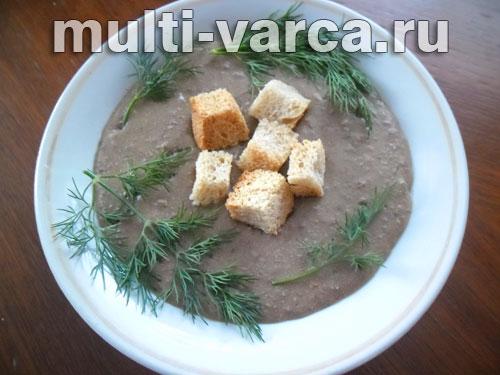 суп пюре из говяжьей печени рецепт с фото
