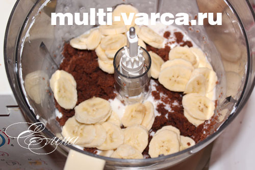 Торт своими руками банановый