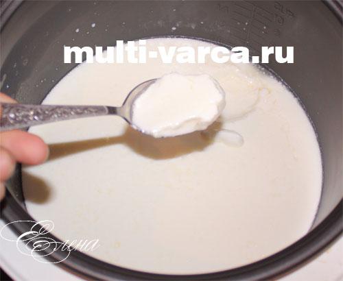 Домашний йогурт в мультиварке рецепт с фото пошаговый Едим 25
