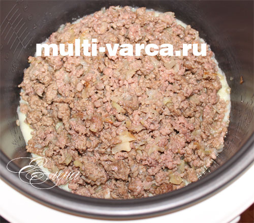 как приготовить картофельную запеканку в мультиварке