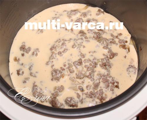 запеканка из картофеля с фаршем в мультиварке рецепты
