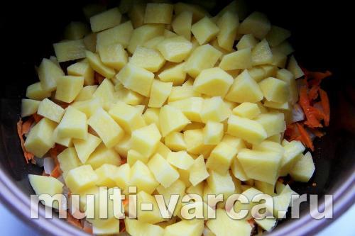 вегетарианские супы в мультиварке