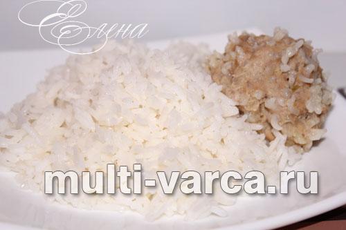как приготовить рассыпчатый рис в мультиварке на гарнир