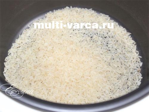 рис в мультиварке пропорции воды и риса поларис