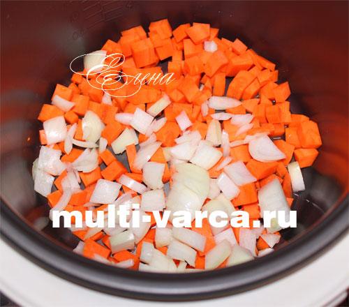 Как приготовить баклажаны с рисом в мультиварке