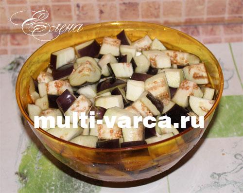 Овощное рагу : кабачки баклажаны картофель рецепт с фото