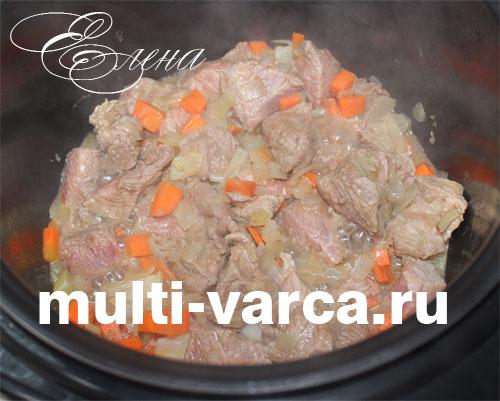 рецепт горохового супа в мультиварке редмонд с мясом и