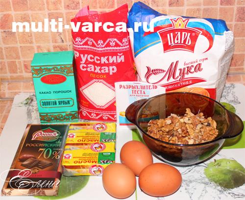 как приготовить шоколадный брауни в мультиварке