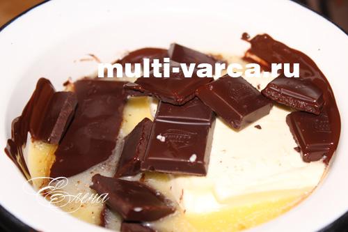 рецепт шоколадных брауни в мультиварке