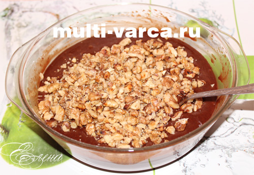 шоколадный пирог брауни
