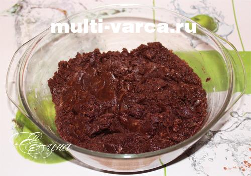 брауни в мультиварке пошаговый рецепт с фото