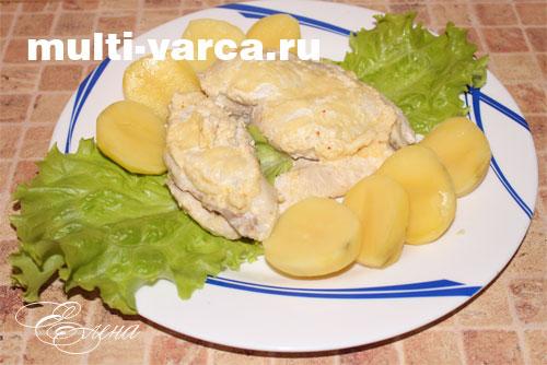 курица с капустой в мультиварке рецепты диетические