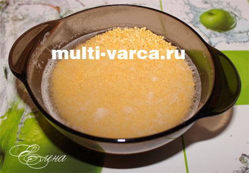 рецепт приготовления в мультиварке пшенной каши с тыквой